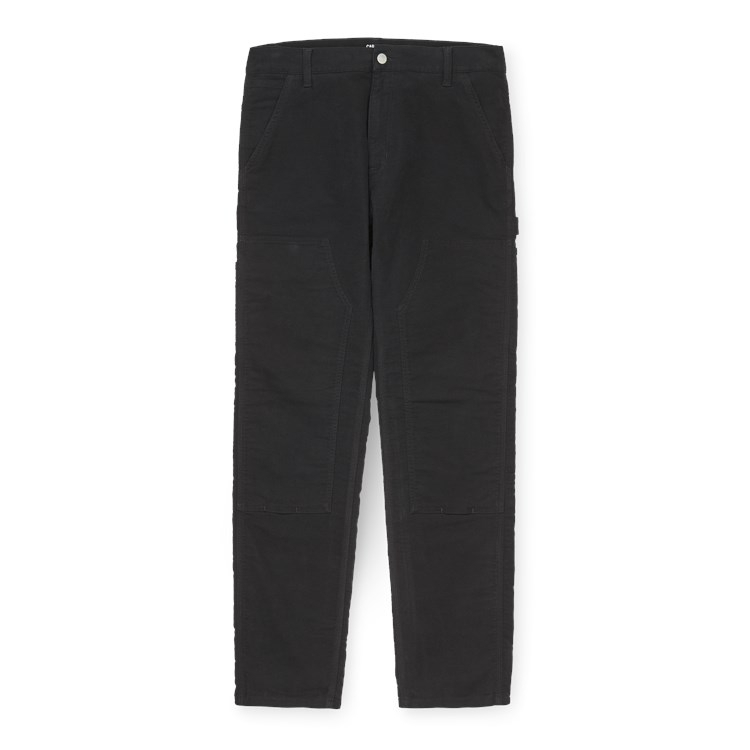 Carhartt WIP Ruck Double Knee Pant Organic Canvas Black