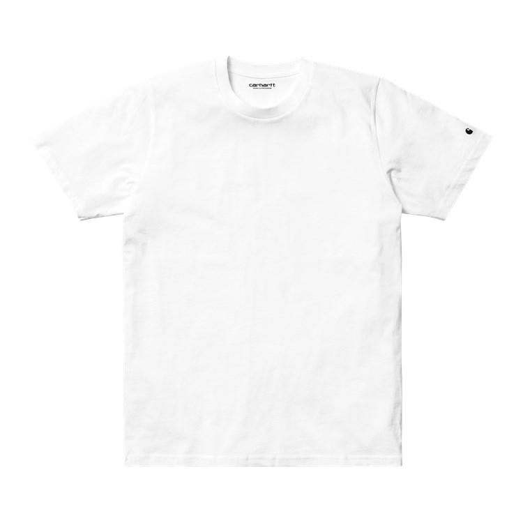 S/S Base T-Shirt White / Black