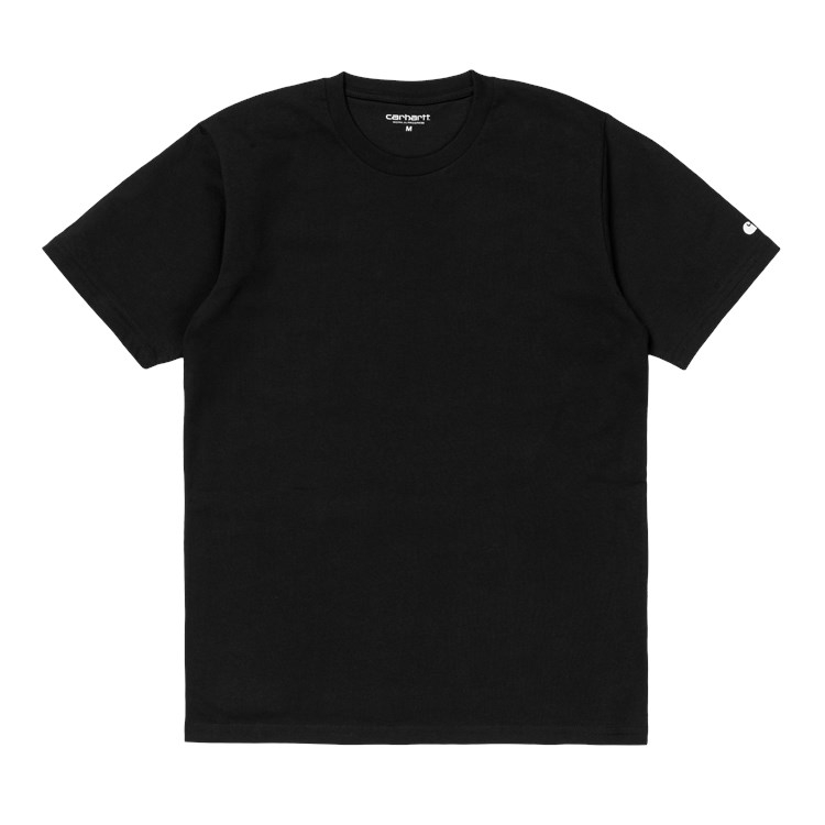S/S Base T-Shirt Black / White