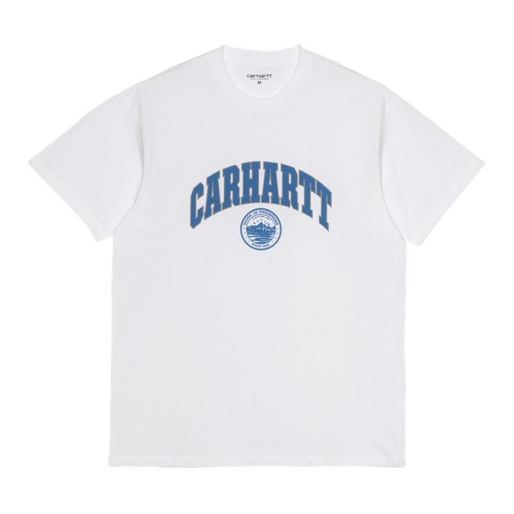 S/S Berkeley Script T-Shirt White