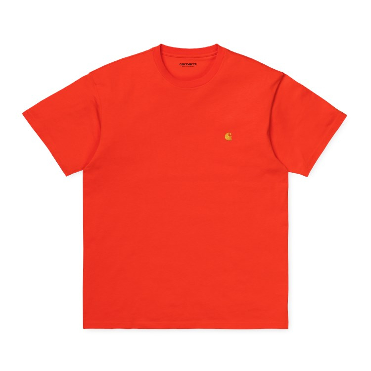 Carhartt WIP S/S Chase T-Shirt Safety Orange