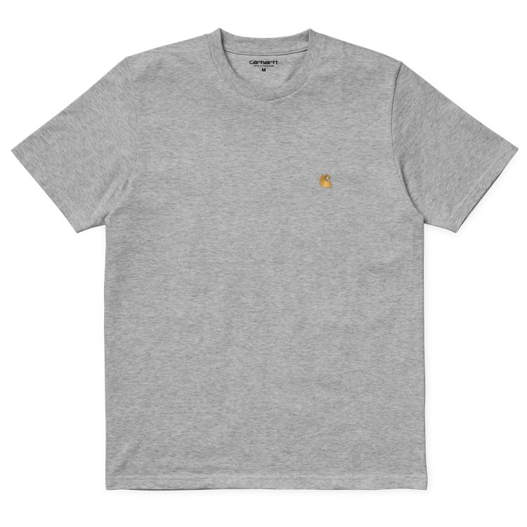 Carhartt WIP S/S Chase T-Shirt Grey Heather