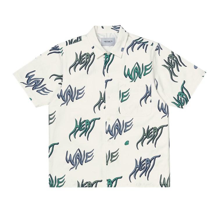 Carhartt WIP S/S Heat Wave Shirt Wax