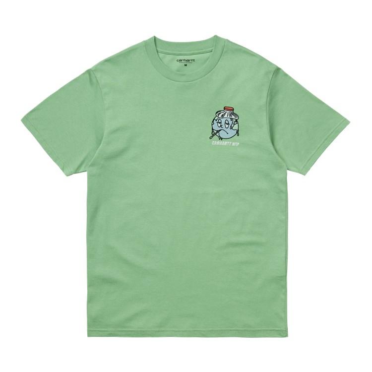 Carhartt WIP S/S Ill World T-Shirt Mineral Green