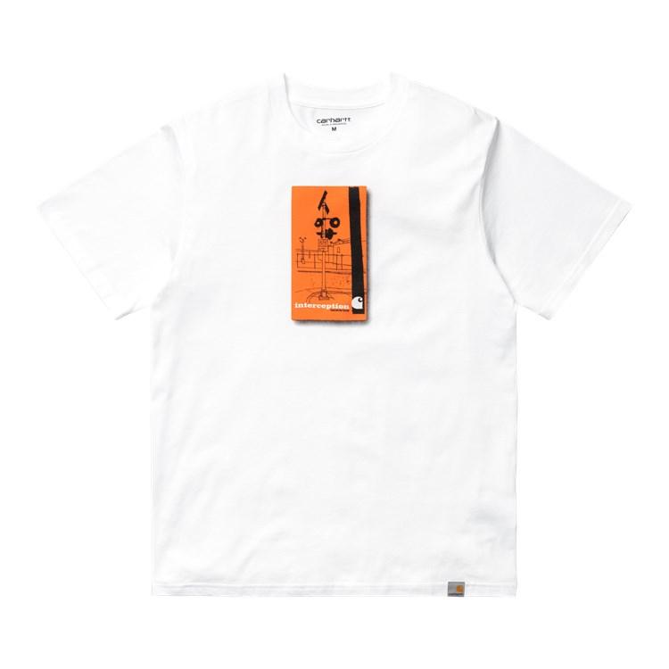 Carhartt WIP S/S Interception T-Shirt White