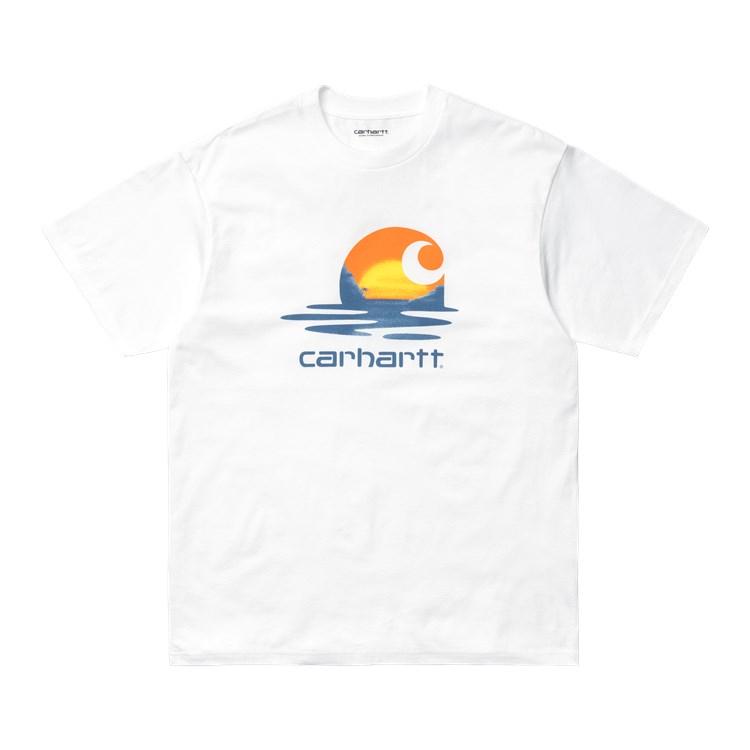 Carhartt WIP S/S Lagoon C T-shirt White