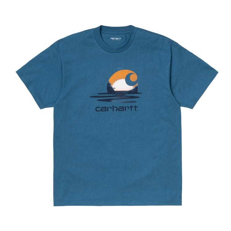 Carhartt WIP S/S Lagoon C T-Shirt Shore