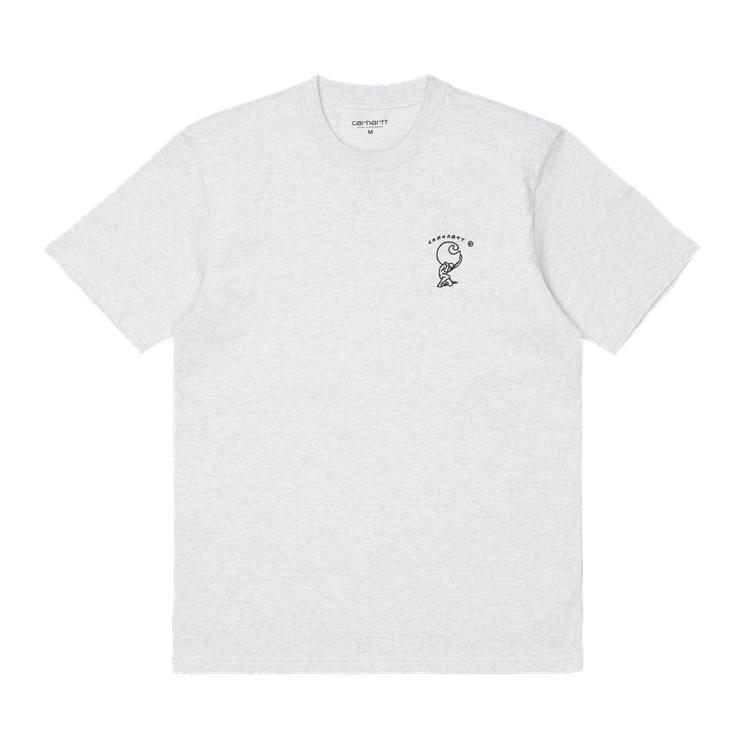 Carhartt WIP S/S Misfortune T-Shirt Ash Heather