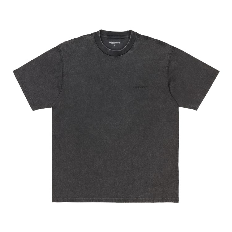 Carhartt WIP S/S Mosby Script T-Shirt Black