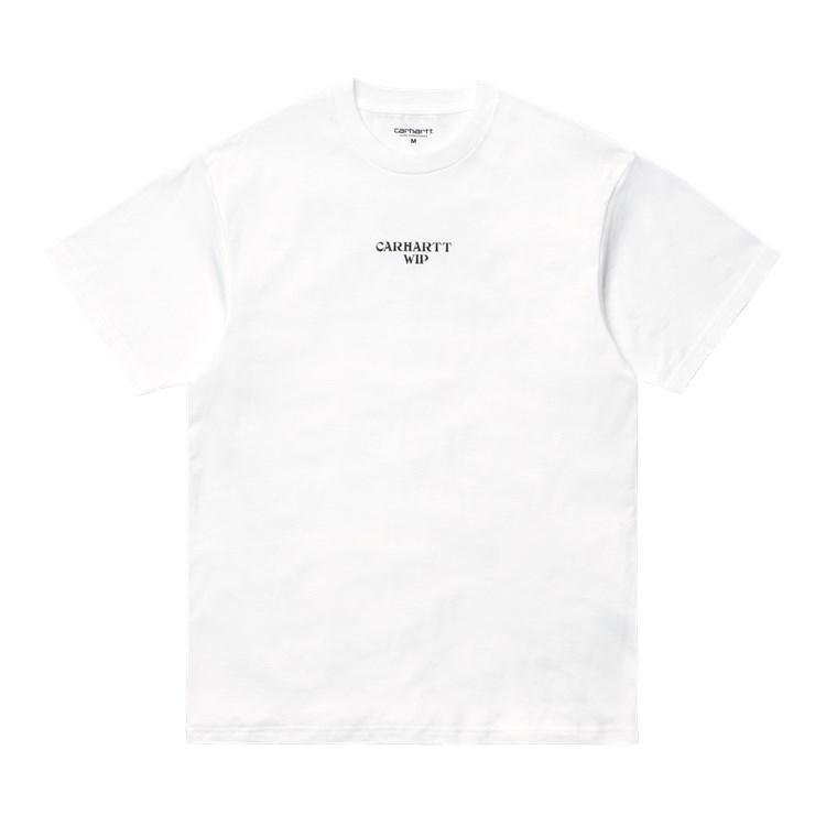 Carhartt WIP S/S Panic T-Shirt White / Black