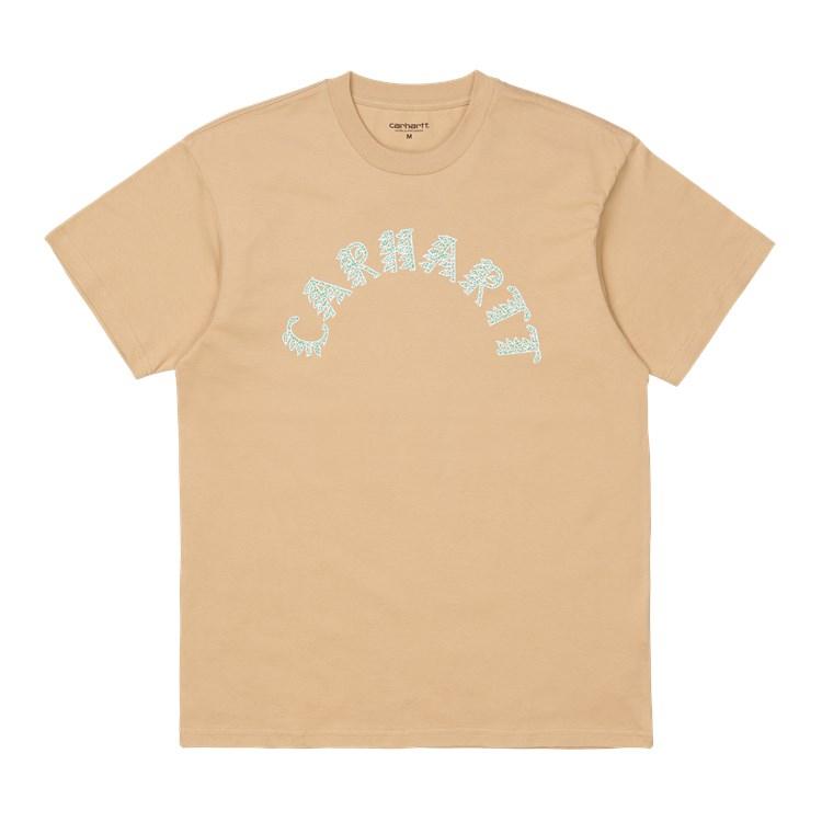 Carhartt WIP S/S Plant Script T-Shirt Dusty H Brown