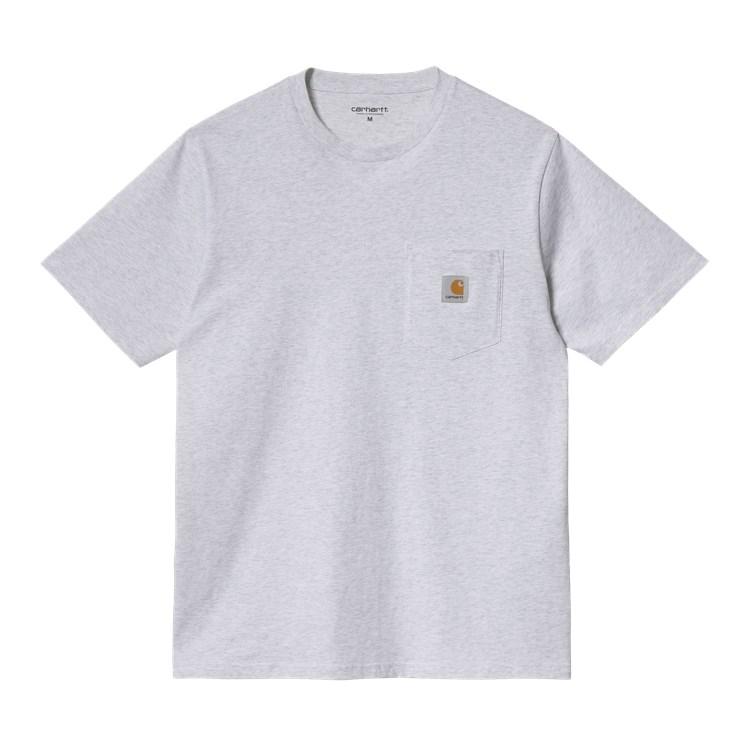 Carhartt WIP S/S Pocket T-Shirt Ash Heather
