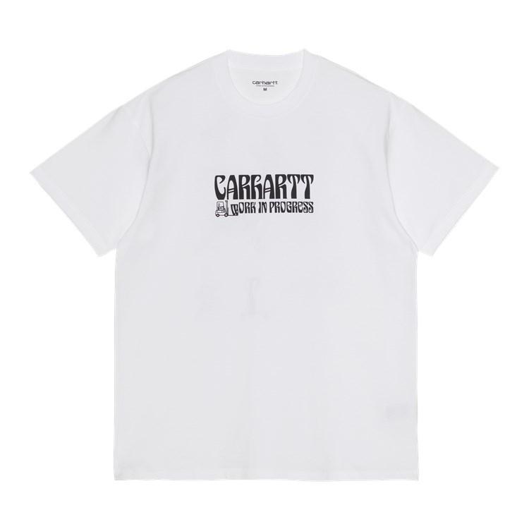 S/S Removals T-Shirt White / Black