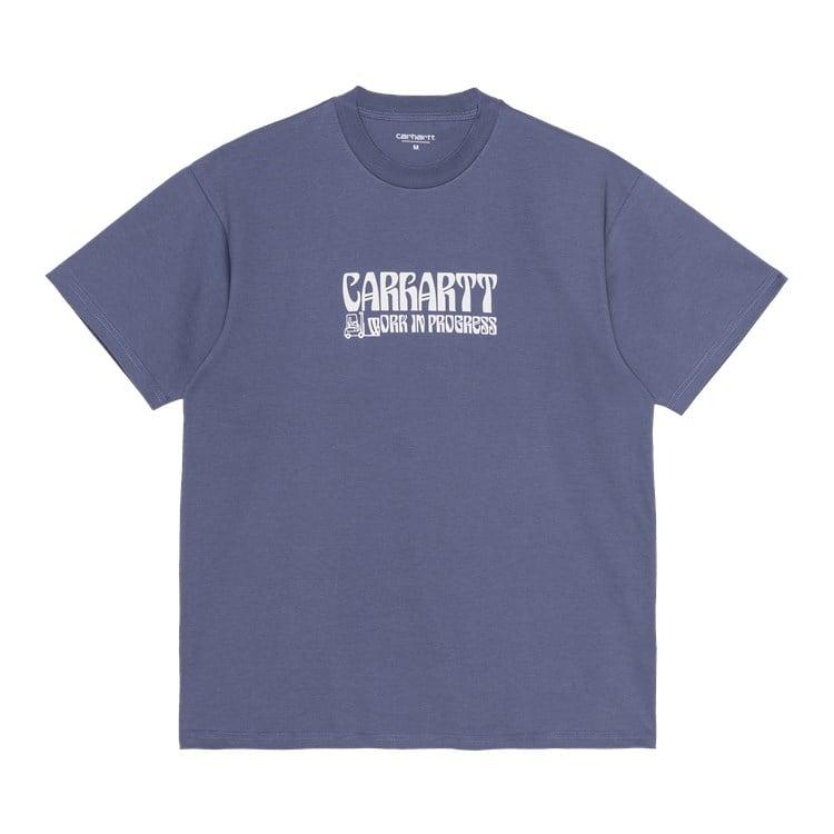 S/S Removals T-Shirt Cold Viola / White