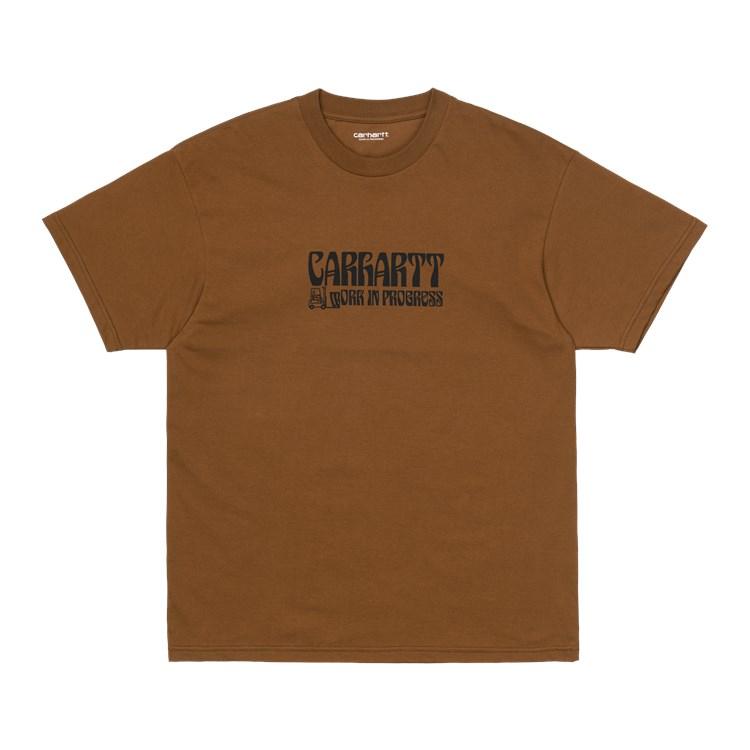 S/S Removals T-Shirt Tawny / Black