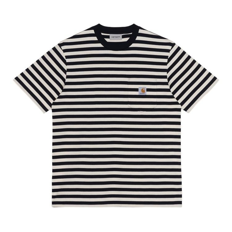 S/S Scotty Pocket T-Shirt Dark Navy / Wax