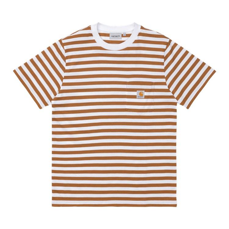 Carhartt WIP S/S Scotty Pocket T-shirt Rum