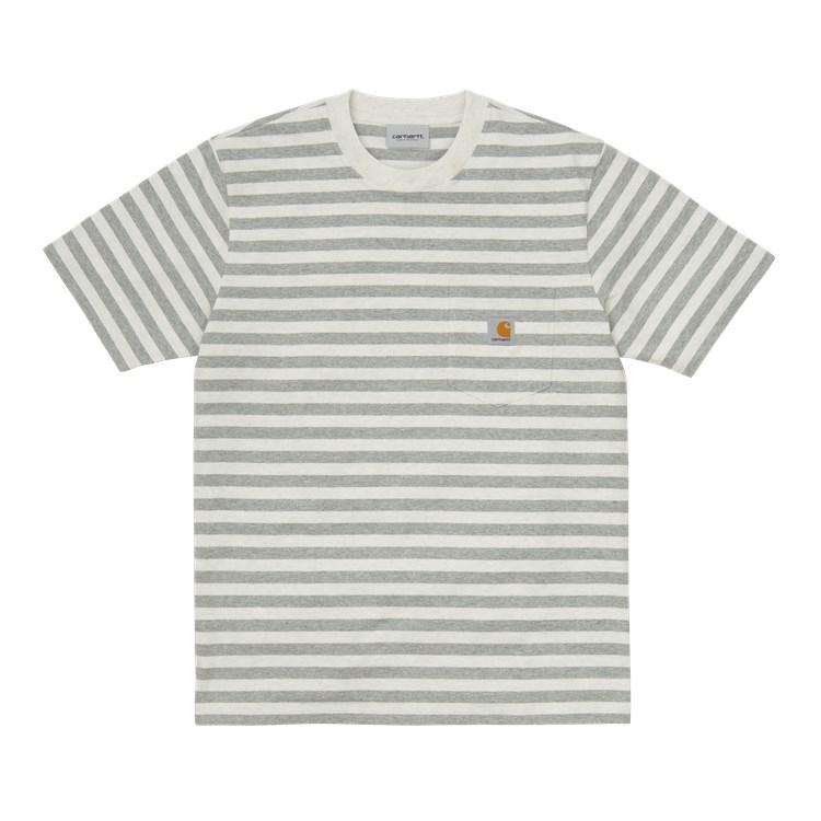 Carhartt WIP S/S Scotty Pocket T-Shirt White Heather