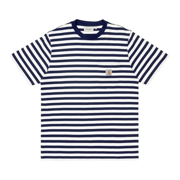S/S Scotty Pocket T-Shirt Dark Navy