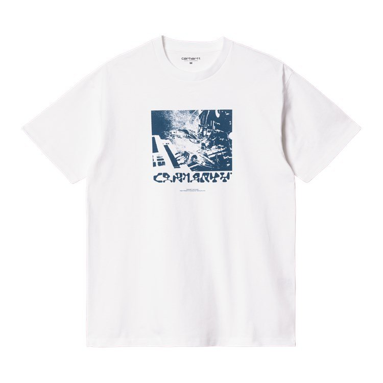 S/S Testing Grounds T-Shirt White