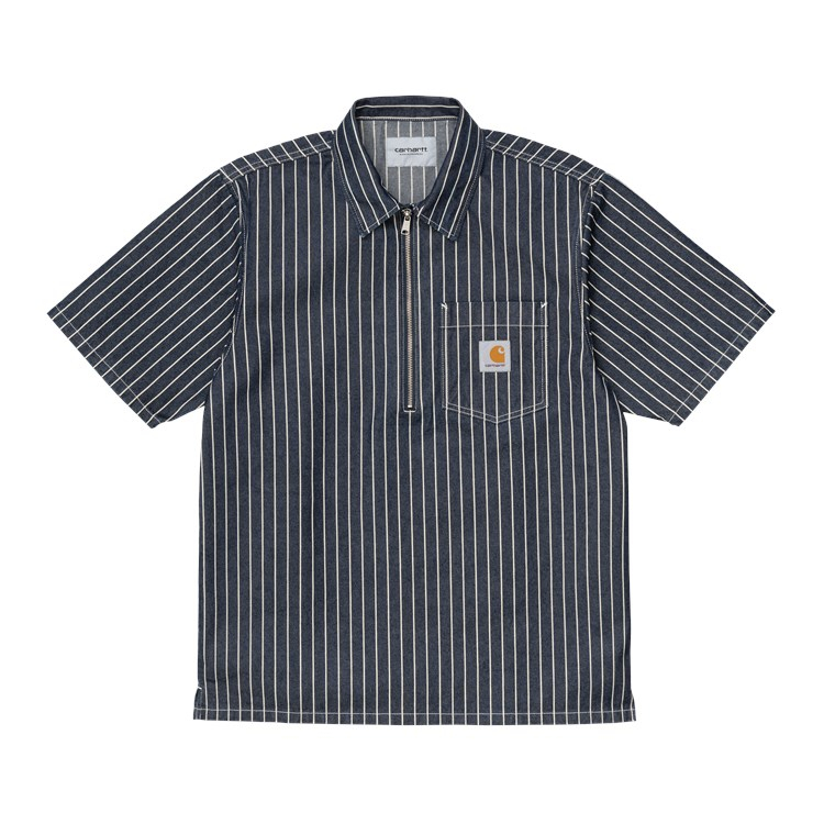 Carhartt WIP S/S Trade Shirt Dark Navy / Wax