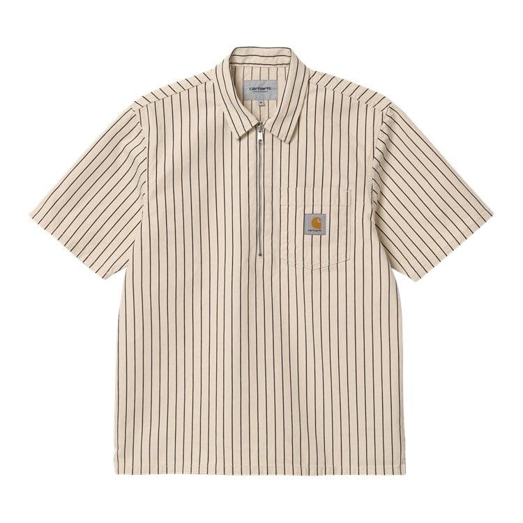 Carhartt WIP S/S Trade Shirt Wax / Black