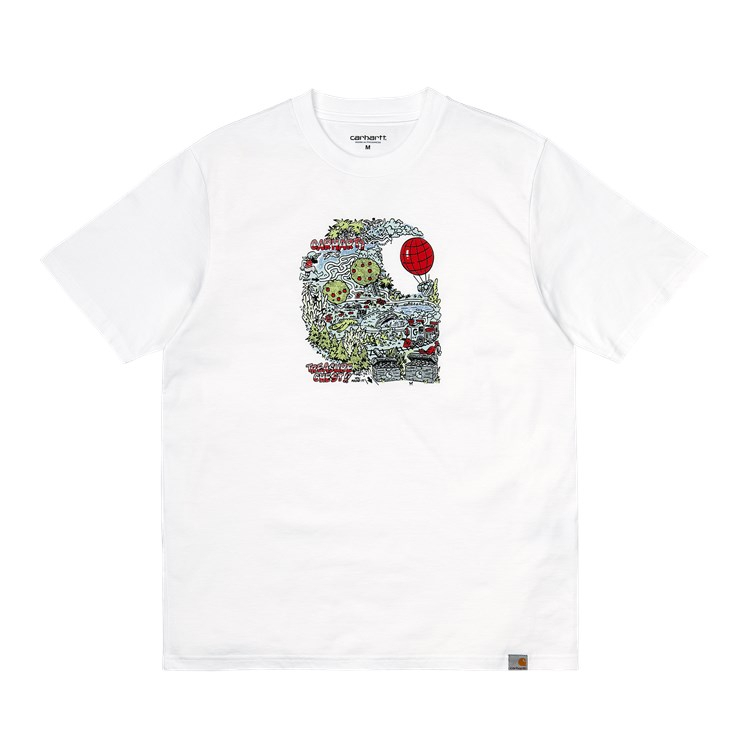 Carhartt WIP S/S Treasure C T-Shirt White