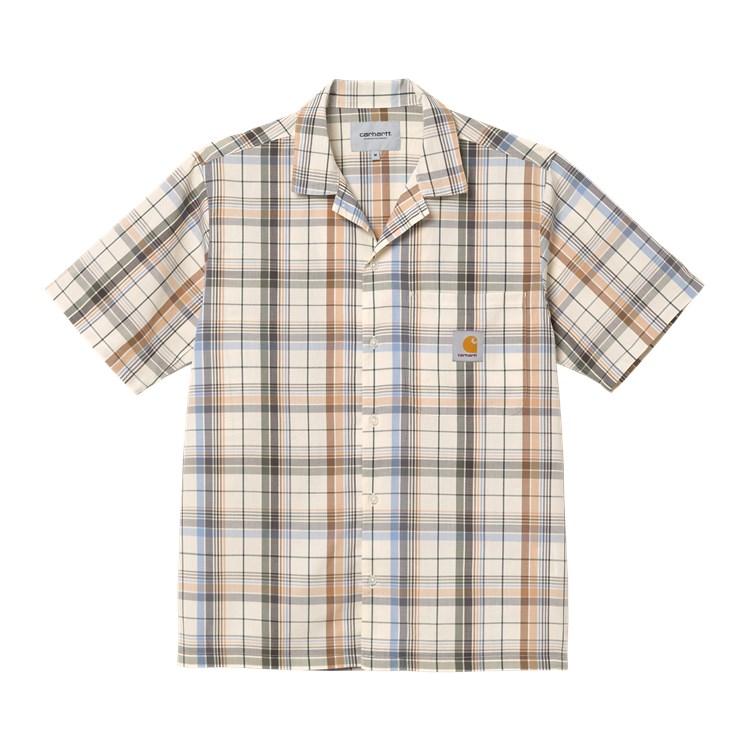 Carhartt WIP S/S Vilay Shirt Natural