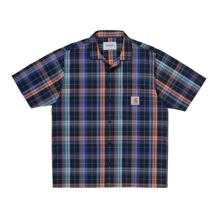 Carhartt WIP S/S Vilay Shirt Dark Navy