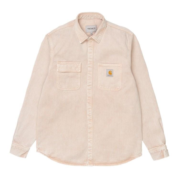 Carhartt WIP Salinac Shirt Jac Dusty H Brown