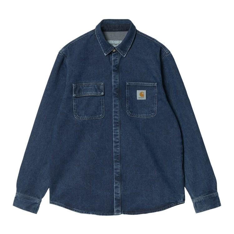 Salinac Shirt Jac Blue Stone Wash