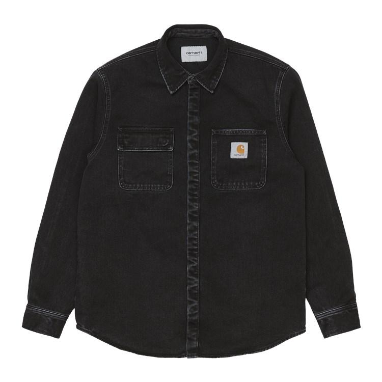 Salinac Shirt Jac Black Stone Wash