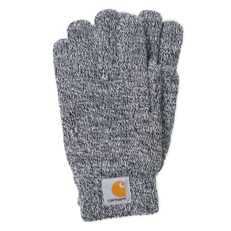 Carhartt WIP Scott Gloves Black / Wax