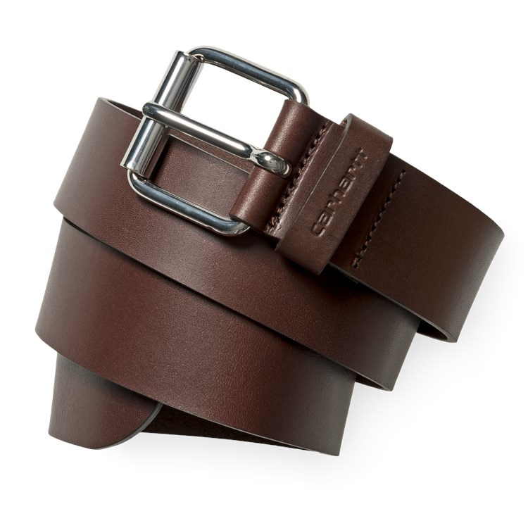 Script Belt Leather