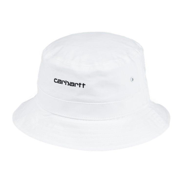 Carhartt WIP Script Bucket Hat White
