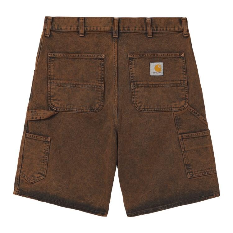 Carhartt WIP Single Knee Short Rum Crater Wash