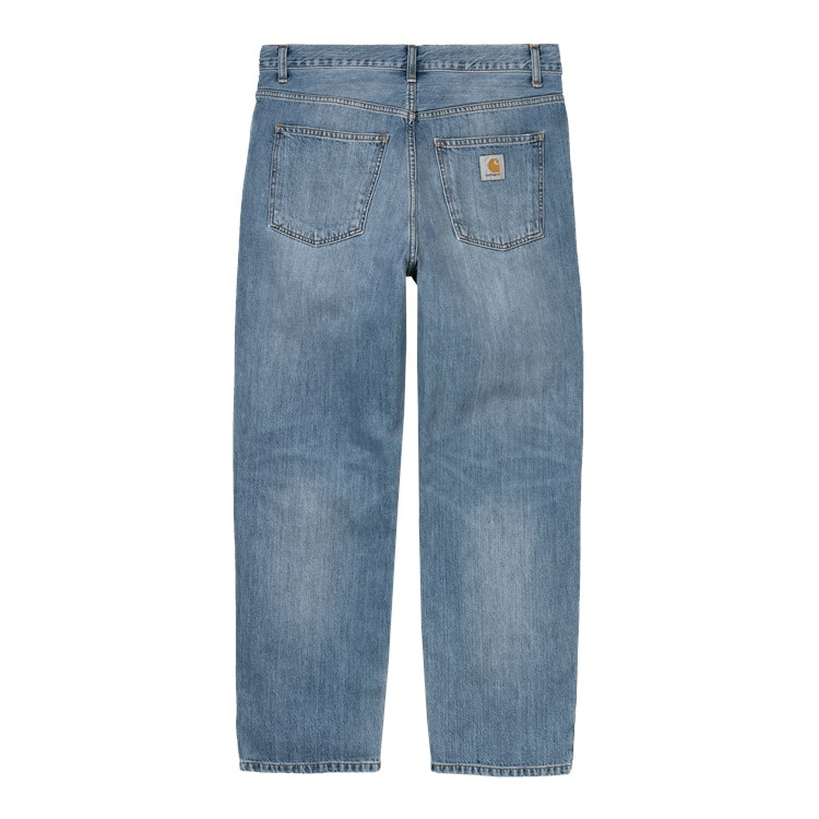 Carhartt WIP Smith Pant Blue Worn Bleached