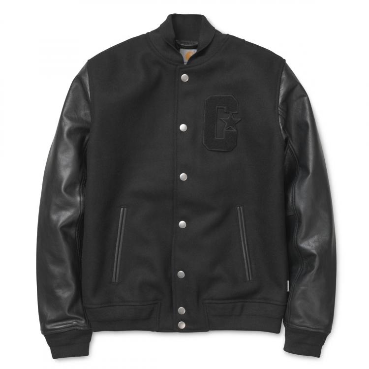 Stanford Varsity Wool/Leather