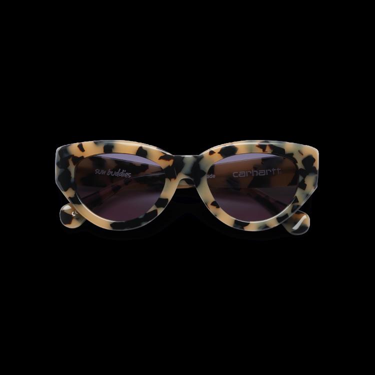 Carhartt WIP Amy Sunglasses Blond Tortoise / Black