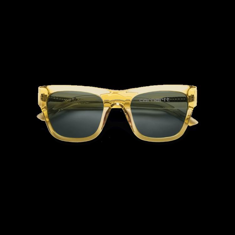 Carhartt WIP Shane Sunglasses Yellow Translucent / Dark Grey