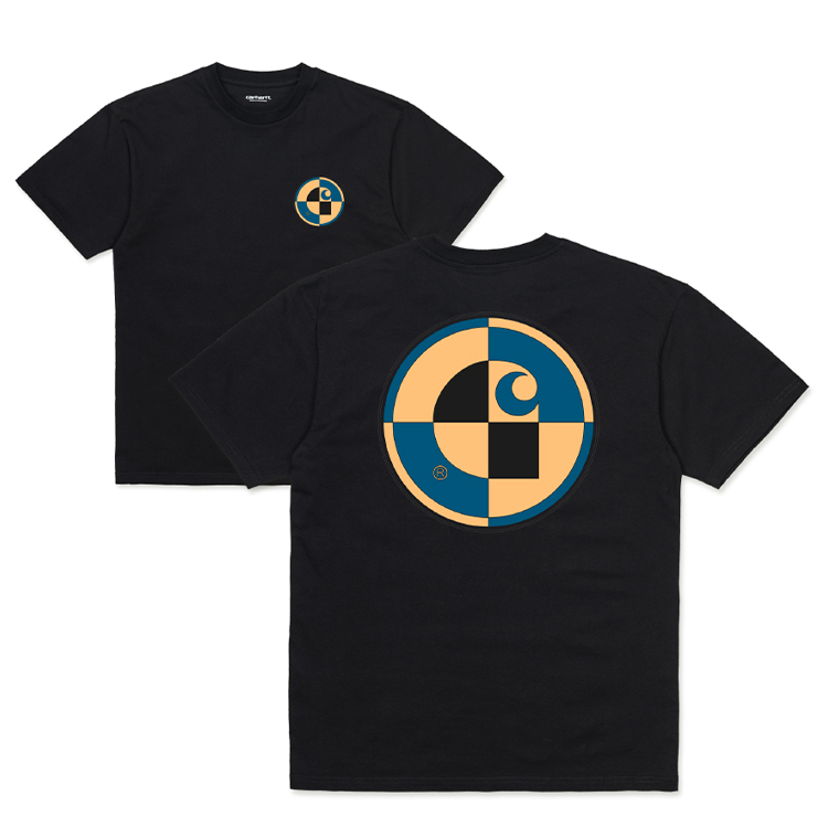 Carhartt WIP S/S Test T-Shirt Black