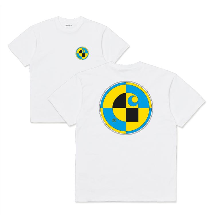 S/S Test T-Shirt White