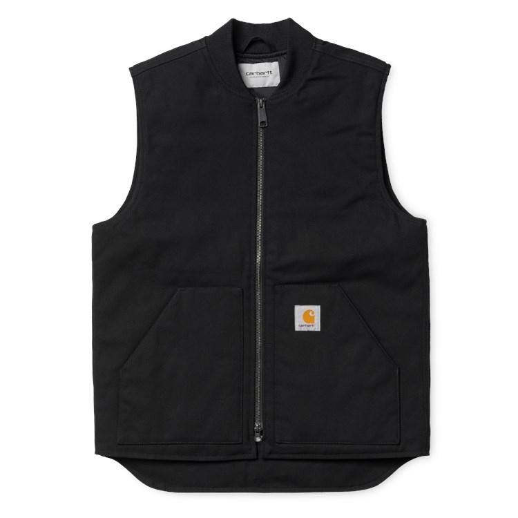 Carhartt WIP Vest Organic (Winter) Black Rigid