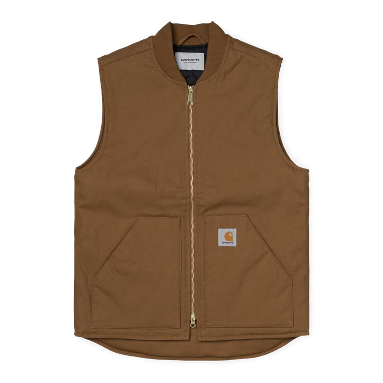 Carhartt WIP Vest Organic (Winter) Hamilton Brown
