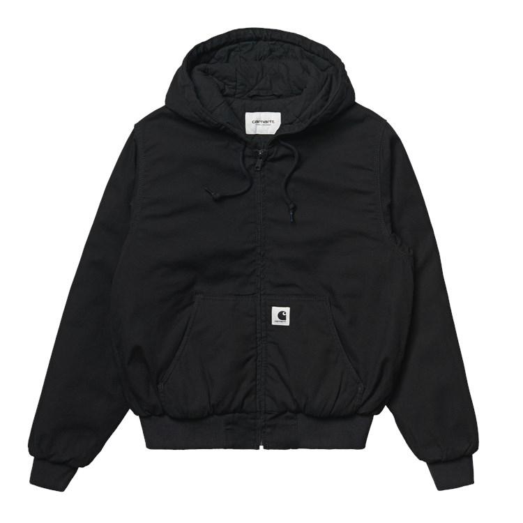 W' Active Jacket Black Rinsed