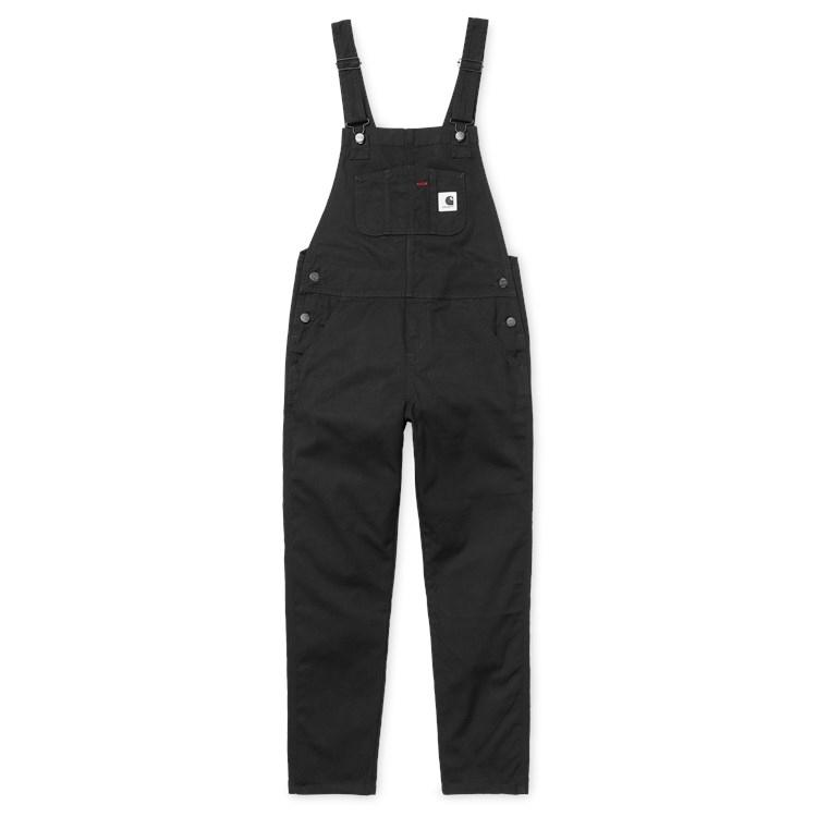 Carhartt WIP W' Bib Overall Hudson Black