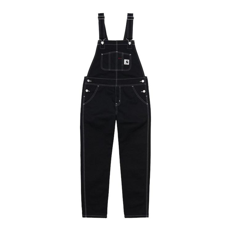 W' Bib Overall Black