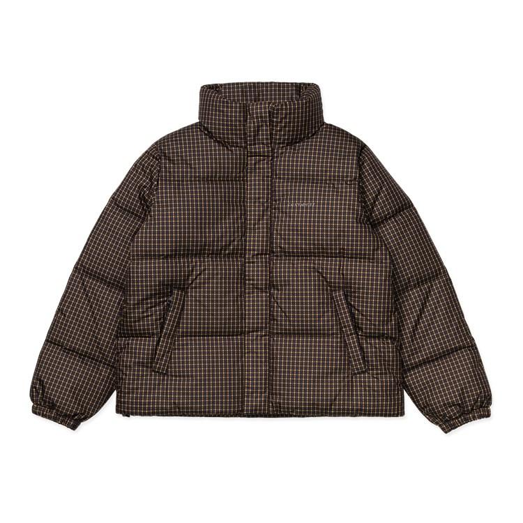 Carhartt WIP W' Danville Jacket Specter Check - Winter Sun / Black