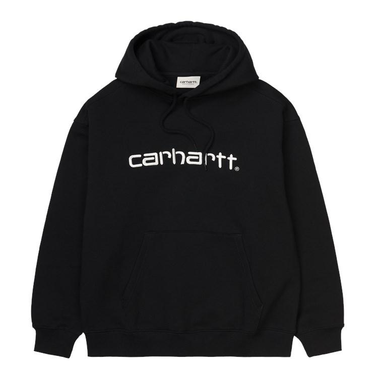 W' Hooded Carhartt Sweat Black / White