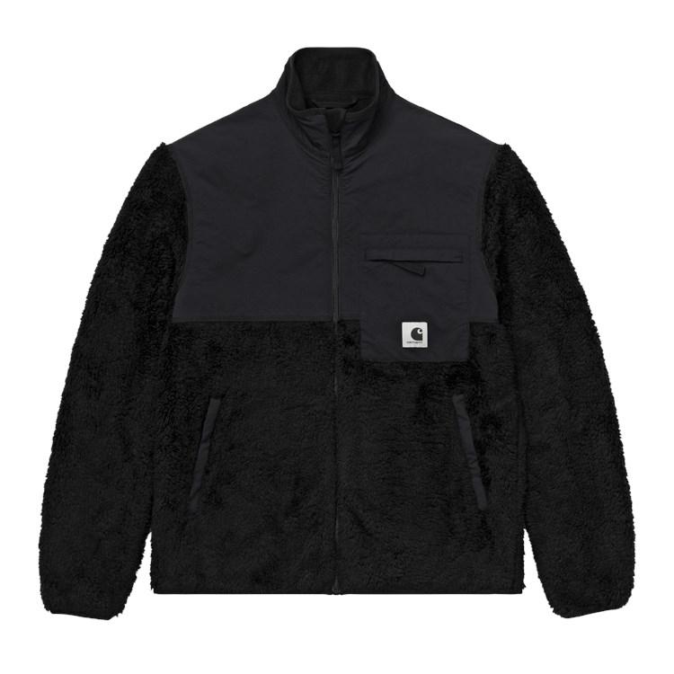 W' Jackson Sweat Jacket Black